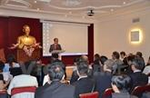 Paris : colloque sur l'assistance aux entreprises vietnamiennes opérant en France