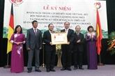 L'Association d'amitié Vietnam-Allemagne reçoit l'Ordre du Travail de première classe