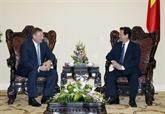 Nguyên Tân Dung reçoit le directeur général de Zarubezneft