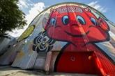 La plus grande fresque murale d'Europe inaugurée à Evry