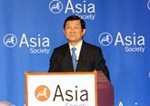 Le président Truong Tân Sang parle des relations vietnamo-américaines