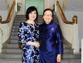 Renforcer la solidarité entre femmes diplomates Vietnam-Laos