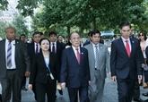 Nguyên Sinh Hùng termine sa participation à la Conférence mondiale des présidents de parlement