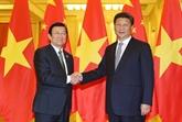 Les relations Vietnam - Chine ont tendance à se développer activement