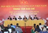 Conférence de presse sur le XIIe Congrès national du Parti