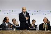 Laurent Fabius présente un plan d'action pour l'accord de Paris sur le climat