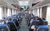 Mise en service des trains de haute qualité sur la ligne Hanoi - Hô Chi Minh-Ville