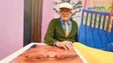 David Hockney présente un livre à 2.000 euros retraçant son œuvre