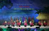 Festival du chant folklorique vi et giam de Nghê Tinh 2016