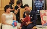 Le bonheur parfait pour 60 couples porteurs de handicap
