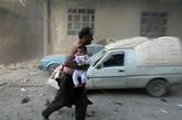 Le régime syrien pousse à Alep-Est
