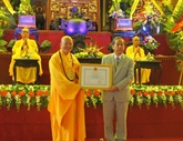 Célébration du 35e anniversaire de l'Église bouddhique du Vietnam
