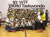 Taekwondo : le Vietnam décroche deux médailles d'or au Pérou
