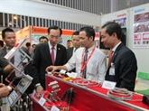L'industrie auxiliaire au cœur d'expositions internationales à Hô Chi Minh-Ville