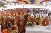 Le 35e anniversaire de l'Église bouddhique du Vietnam célébré à Kiên Giang