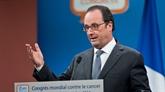 Hollande souligne l'engagement de la France au niveau mondial contre le cancer