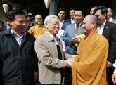 À Bac Ninh, le chef du Parti envoie un message de grande union nationale