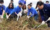 Le vice-Premier ministre Vu Duc Dam participe à la campagne «Bon geste pour l'environnement»