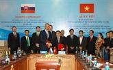 Signature d'un accord de coopération entre HCM-Ville et la ville slovaque de Košice