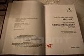 Publication du 4e volume du Grand Dictionnaire tchèque-vietnamien