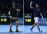 Tennis : Djokovic-Murray, finale de rêve au Masters pour deux aspirants rois