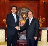 Approfondir la coopération entre Hô Chi Minh-Ville et le Japon