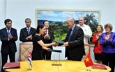 Clôture de la 34e session du Comité intergouvernemental Vietnam - Cuba