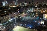 Des dizaines de milliers d'Israéliens à un rassemblement annuel pour la paix