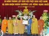 Célébration des 35 ans de la fondation de l'Église bouddhique du Vietnam