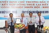 Binh Dinh : trois nouveaux projets d'investissement autorisés