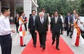 Le président d'Irlande s'adresse aux étudiants de l'Université nationale de Hanoï
