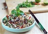 Salade d'anguilles