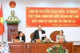 Le Premier ministre exhorte Gia Lai à mieux exploiter l'espace culturel des gongs