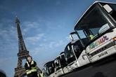 Mesures anti-diesel : des centaines d'autocars mobilisés à Paris