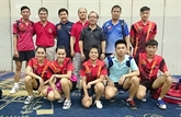 Tennis de table : l'équipe féminine du Vietnam championne d'Asie du Sud-Est
