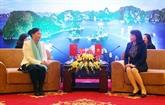 Renforcement de l'amitié entre les femmes Vietnam-Chine