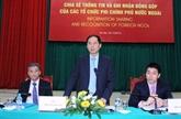 Le Vietnam honore 30 organisations non gouvernementales étrangères