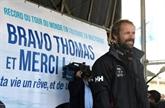 Voile : Coville accueilli en héros à Brest au bout de son long chemin