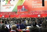Une délégation du PCV au XXe Congrès du Parti communiste portugais