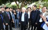 Les électeurs de Hanoï s'intéressent aux questions brûlantes du pays