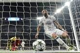 Buteurs en Ligue des champions: Benzema inscrit un doublé et se rapproche de Henry