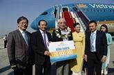 Vietnam Airlines accueille le 20 millionième passager