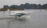 Tours d'hydravion à Ha Long : 3.500 passagers en un an