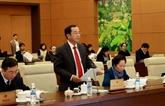 Le Comité permanent de l'Assemblée nationale salue le travail du chef de l'État