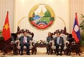 Coopération efficace entre les ministères vietnamien et lao du Plan et de l'Investissement