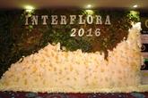 Concours international de décoration florale sur l'áo dài