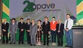 Vingt ans d'existence de la société APAVE : de nombreux contrats importants réalisés