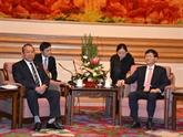Une délégation de la Cour populaire suprême du Vietnam en visite en Chine