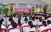 Célébration du 90e anniversaire de la fondation du caodaïsme à Bên Tre