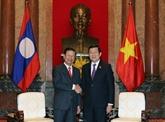 Vietnam-Laos : le président Truong Tân Sang reçoit le vice-PM Somsavat Lengsavad